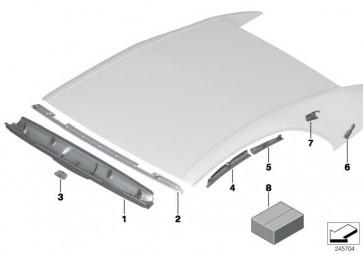 Blende Sensor rechts  6er  (54347311674)