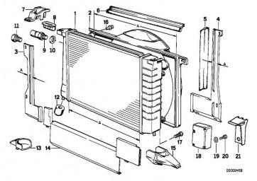 Halter Sensor Auc AUC 8er 7er 5er  (64118390598)