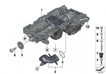 Bundschraube M10X30          X1 Z4 5er X3 3er 1er 4er 2er X4 X5 X6  (11277619309)