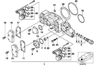 O-Ring 30X2MM          3er Z3  (11311317741)