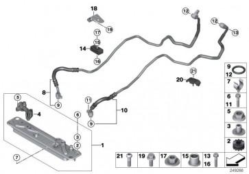 Getriebeölkühlerleitung Vorlauf (17227576385)