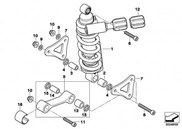 ISA-Schraube M10X60          K40 K43 K44  (33537662084)