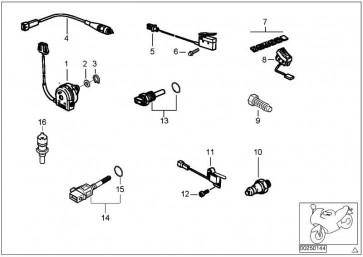 Schalter Seitenstütze  R13 K47 K49 K46 K03  (61328535708)
