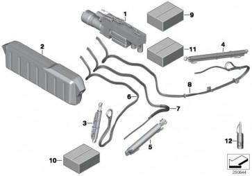 Hydraulikzylinder Verdeck  6er  (54347299825)