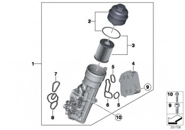 Wärmetauscher  1er 3er  (11427625489)