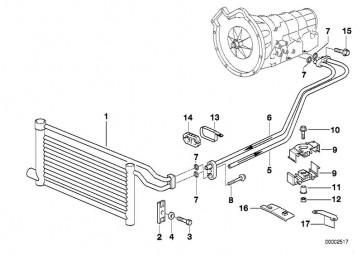 Ölkühlerleitung Rücklauf A5S 440Z        (17221745737)