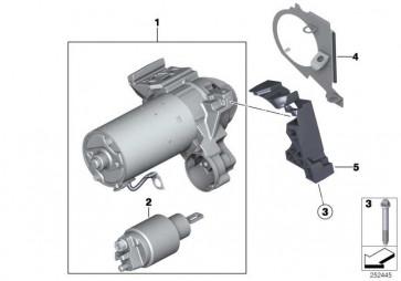 Austausch Anlasser  7er X5 X6  (12418581098)