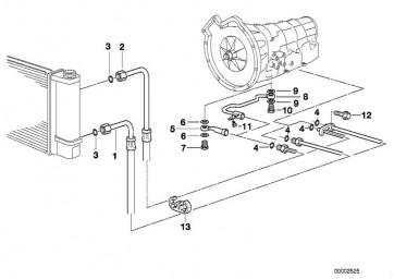 Ölkühlerleitung-Schraubanschluss 4HP-22  (VL)    (17221719317)