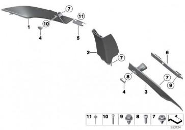 """Abdeckkappe """"Airbag"""" OYSTER          3er 4er 5er 6er 7er X5  (51439180577)"""