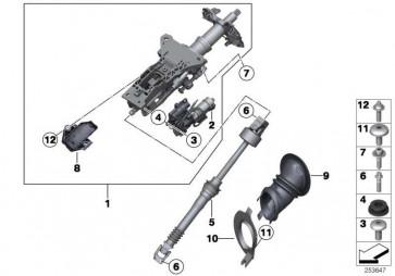 Abreissschraube M8  AF  D15 5er 6er  (32306774703)