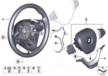 Airbagmodul Fahrerseite mit Tilger  X3 X5 X4 X6  (32306859517)