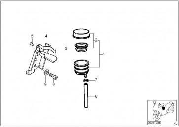 Halter für Bremsflüssigkeitsbehälter  259C  (34312331594)