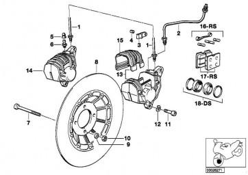 Bremsleitung  R  (34321458290)