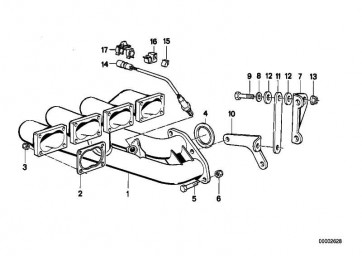 Halter  3er BMW  (18201309041)