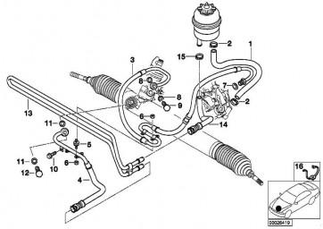 Kühlerrücklaufleitung  3er  (32416796390)