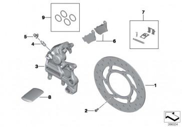 Bremsscheibe hinten D=240MM         K15  (34217708835)