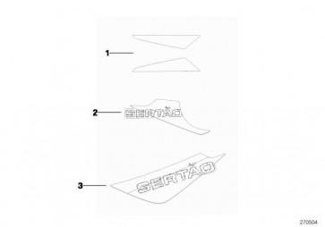 Dekor-Heckblende links BLAU/WEISS/GRAU R13  (51148529873)