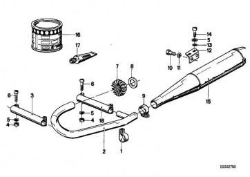 Zylinderschraube M6X30            (31422311105)