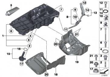Kunststoffschraube 6X16 2er 3er 4er 5er 7er X3 X4 X5 X6 MINI  (07129907895)
