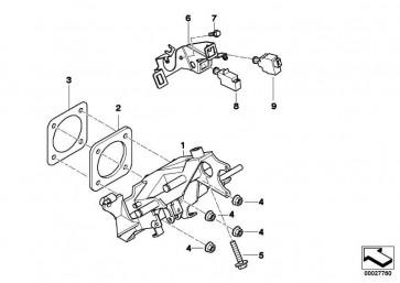 Kupplungsschalter 3 POL.          3er 5er X5 Z3  (61318381612)
