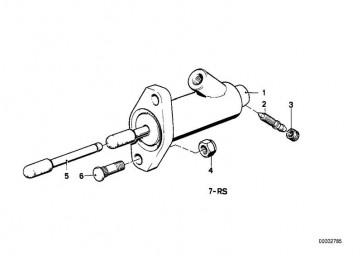 Kupplungsnehmerzylinder D=22,20MM (21521114536)