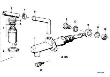 Reparatursatz Kupplungsgeberzylinder    (21521102935)