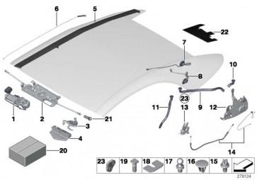 Reparatursatz Verschluss  6er  (54347310401)