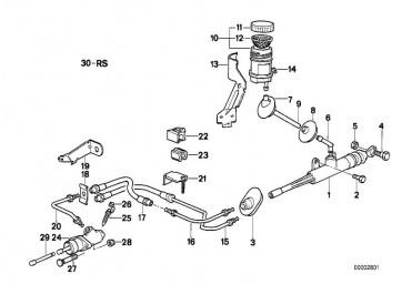 Reparatursatz Kupplungsgeberzylinder FAG             (21521158144)
