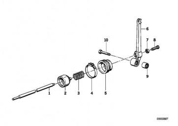 Druckstange L=258MM          (21527659112)