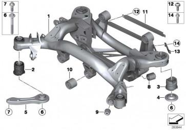 Torxschraube mit Scheibe ISA M8X25 1er 2er 3er 4er MINI  (07147301867)