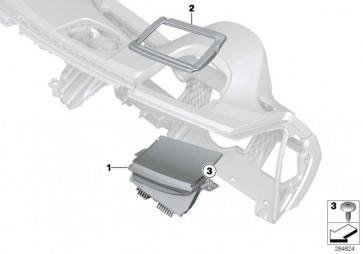 Head-Up Display LHD 3er  (62309287540)