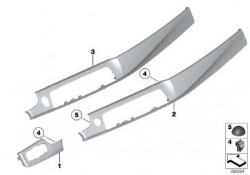 Blende I-Tafel Holz Fineline rechts  5er  (51459192942)
