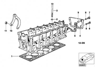 Zylinderkopfdichtung asbestfrei  8er 7er  (11121741021)