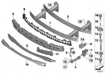 Vertikalstrebe rechts M / FGS         1er  (51118055748)