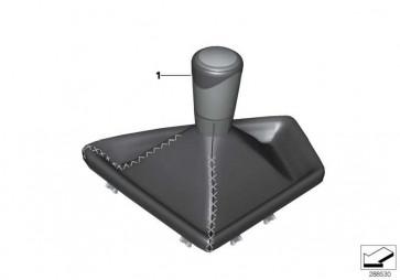 Schaltknopf Alcantara mit Abdeckung  2er  (25117854545)