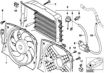 Schraube selbstschneidend D6X40 ZNS3      1er 3er X1 X3 Z4  (17117536972)