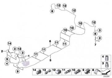Rohrleitung mit Druckschlauch  3er 4er  (34306858775)