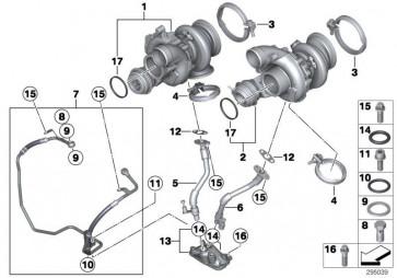 Austausch Turbolader ZYL. 1-4 (11657850317)
