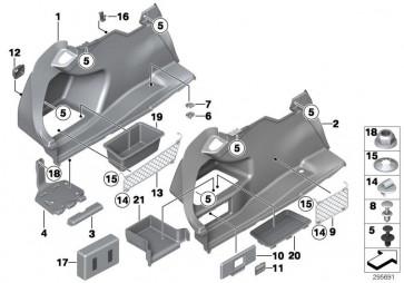 Verkleidung Gepäckraum links (51477289011)