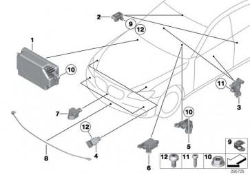 Sensor B-Säule  5er X3 6er 7er X5 X4 X6  (65779224177)