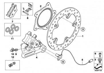 Reparatursatz Bremsbeläge hinten   (34217707809)