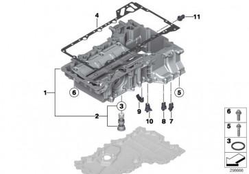 Dichtung Metall  5er 6er 7er X5 X6  (11137566644)