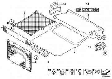 Einlegeplatte Gepäckraum  3er  (51477124302)