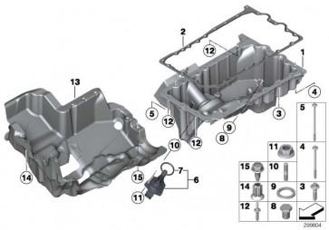 ASA-Schraube M6X25 - 8.8     X1 Z4 5er X3 3er 1er 4er 2er X4 X5 X6  (11137603833)