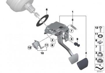 Bremspedal-Weg-Sensor  3er  (35006798803)