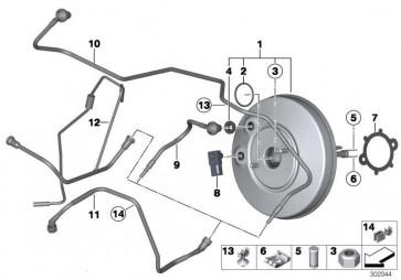 Bremskraftverstärker  MINI  (34336863539)