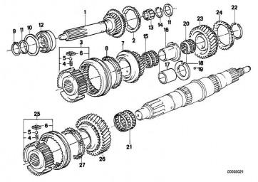 Sicherungsring 52X44X1,95      7er 6er 5er 3er Z1  (23221224191)
