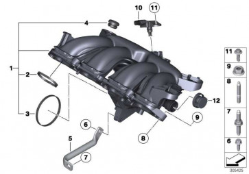 Drucksensor  1er 3er MINI  (13627599907)