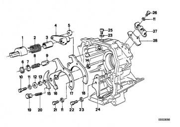 Zylinderschraube M8X15           3er 7er 6er 5er Z1  (23111228246)