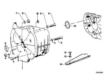Getriebegehäuse  R R50/5-R90S   (23111233847)